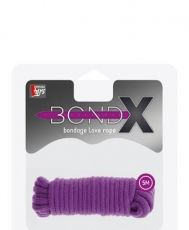 BONDX LOVE ROPE - 5M PURPLE