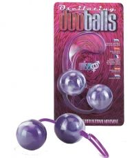 Marbilized Duo Balls Purple