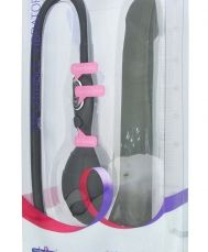 PREMIUM RANGE INFLATABLE VIBRATOR BLACK