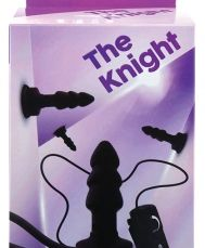 THE KNIGHT INFLATABLE VIBRATING PLUG