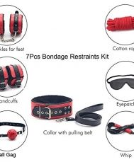 Bondage Restraints 7Pcs BDSM Kit