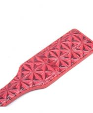 Red Embossed Paddle