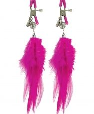 Fetish Fantasy Series Fancy Feather Nipple Clamps