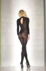 LONG SLEEVE CROTCHLESS JUMPSUIT BWB88B - OS
