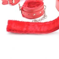 7 PCS Red Color BDSM Kit