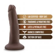 Dr. Skin - 5.5 Inch Cock With Suction Cup - Chocolate