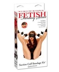 FETISH FANTASY SERIES SUCTION CUP BONDAGE KIT