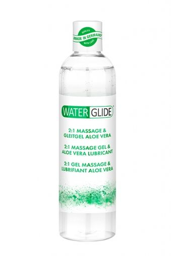 WATERGLIDE MASSAGE & LUBRICANT ALOE VERA
