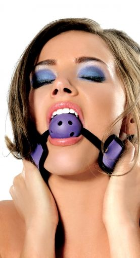 FF NEOPRENE BREATHABLE BALL GAG