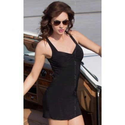 Pearl Dress Softline, black - S/M