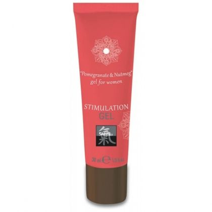 Stimulation Gel - Pomegranate & Nutmeg 30 ml