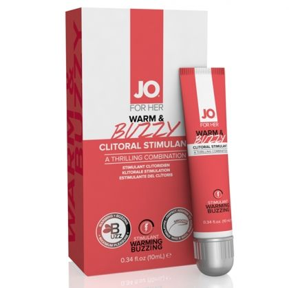 SYSTEM JO - FOR HER CLITORAL STIMULANT WARMING WARM & BUZZY ORIGINAL 10 ML