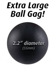 Extreme Ball Gag Black