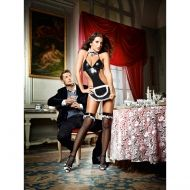 AT YOUR SERVICE FRENCH MAID COSTUME BAC1362 - OS