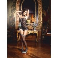 ROOM SERVICE FRENCH MAID COSTUME BAC1343BLK - OS