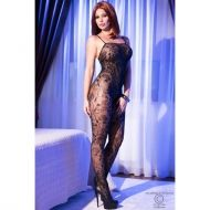 Black superstretch Bodystocking CR 4097 - S/L