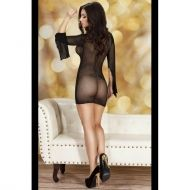 Black Ladies Minidress CR 3609 - S/M