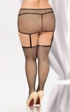 Stockings & Garterbelt 6294 black - QS