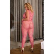 Catsuit She-cat 6254 Neon Pink - QS