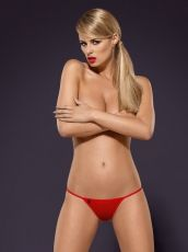Luiza thong Obsessive red - S/M