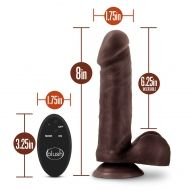 DR. SKIN 8INCH WIRELESS REMOTE DILDO