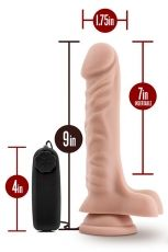 DR. SKIN DR. JAMES 9INCH VIBRATING COCK