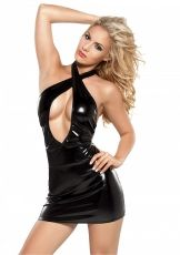 Crisscross Dress, Kitten Allure, black - OS