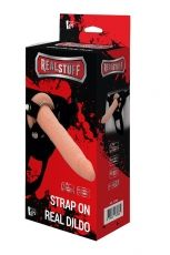 REALSTUFF STRAP ON REAL DILDO