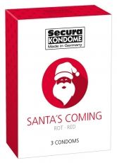 Secura Santa's Coming - 3pcs