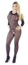 Crotchless Catsuit Orion - S/L