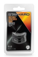 STAY HARD BEEF BALL STRETCHER SNUG BLACK