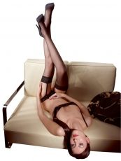 Stockings black Orion - L
