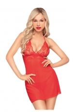 Bedtime story, Penthouse Lingerie, red, M/L
